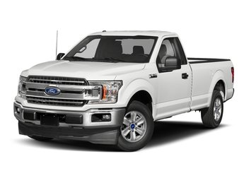 2018 Oxford White Ford F-150 XL 3.3L V6 Ti-VCT 24V Engine Automatic 2 Door