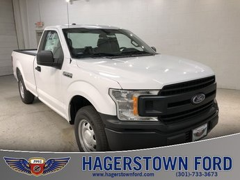 2018 Oxford White Ford F-150 XL 3.3L V6 Ti-VCT 24V Engine 2 Door Truck RWD Automatic