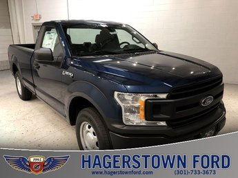 2018 Blue Ford F-150 XL Automatic 3.3L V6 Ti-VCT 24V Engine Truck RWD 2 Door