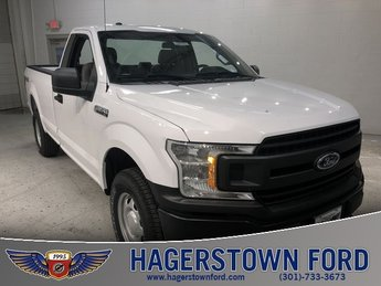 2018 Oxford White Ford F-150 XL 2 Door Automatic 4X4