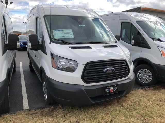2018 Ford Transit-250 Base Automatic Van EcoBoost 3.5L V6 GTDi DOHC 24V Twin Turbocharged Engine