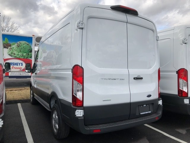 2018 Ford Transit-250 Base EcoBoost 3.5L V6 GTDi DOHC 24V Twin Turbocharged Engine RWD 3 Door Automatic Van