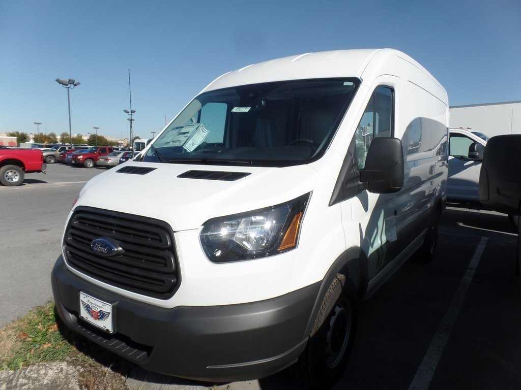 2018 Ford Transit-250 Base Van 3 Door 3.7L V6 Ti-VCT 24V Engine RWD Automatic