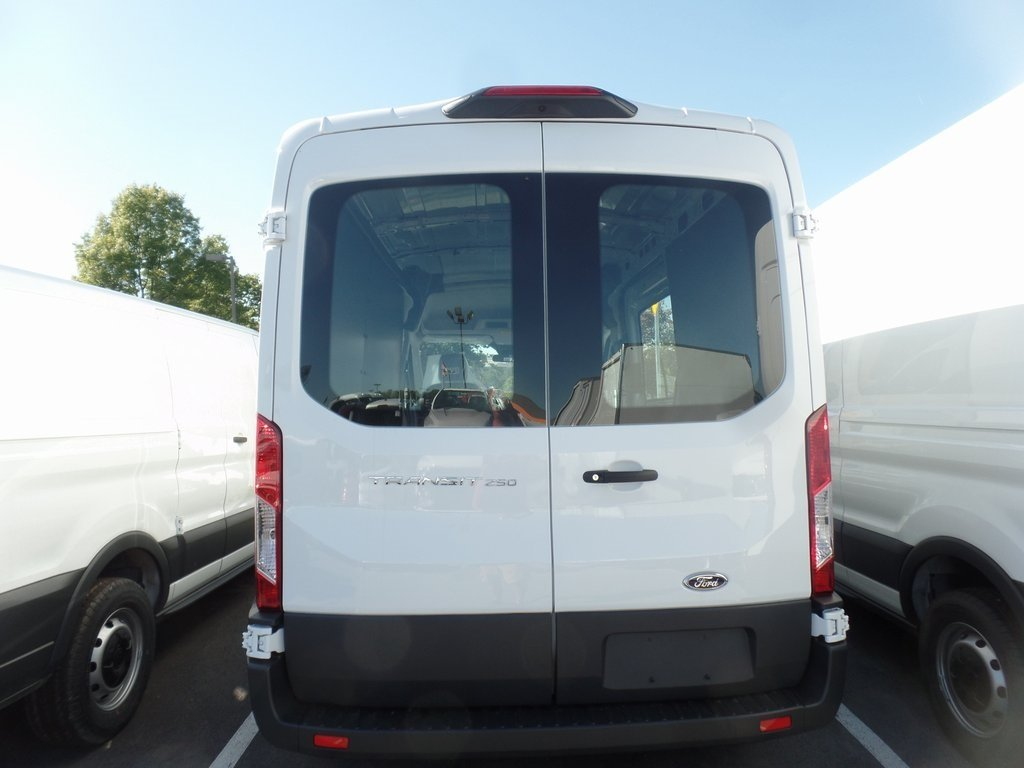 2018 Oxford White Ford Transit-250 Base RWD Van 3.7L V6 Ti-VCT 24V Engine 3 Door