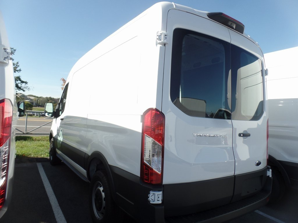 2018 Oxford White Ford Transit-250 Base Van 3.7L V6 Ti-VCT 24V Engine RWD