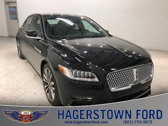 2017 Lincoln Continental Reserve 4 Door AWD Sedan