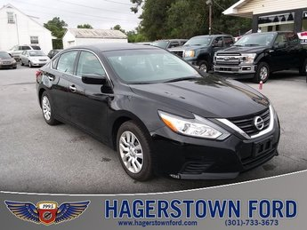 2016 Black Nissan Altima 2.5 SV Automatic (CVT) FWD Sedan 4 Door 2.5L 4-Cylinder DOHC 16V Engine