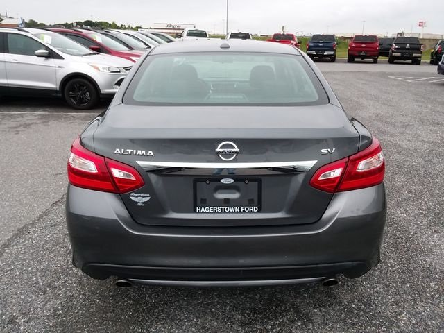 2017 Nissan Altima 2.5 SV Automatic (CVT) 2.5L 4-Cylinder DOHC 16V Engine FWD Sedan 4 Door