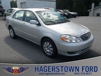 2003 Toyota Corolla LE 1.8L MPI DOHC Engine FWD 4 Door Sedan