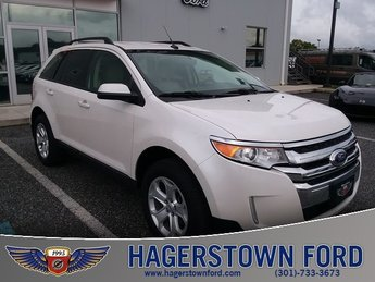 2014 White Ford Edge SEL SUV 4 Door Automatic