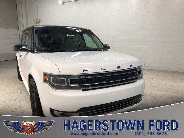 2018 Oxford White Ford Flex Limited 3.5L Engine AWD 4 Door SUV