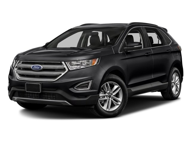 2018 Shadow Black Ford Edge SEL AWD SUV 4 Door