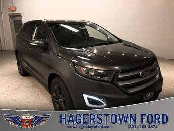 2018 Magnetic Metallic Ford Edge SEL Automatic 3.5L V6 Ti-VCT Engine 4 Door AWD