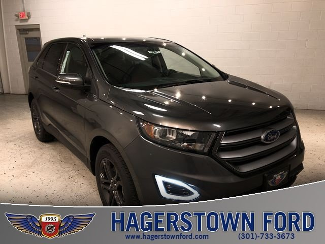 2018 Magnetic Metallic Ford Edge SEL SUV Automatic AWD 4 Door 3.5L V6 Ti-VCT Engine