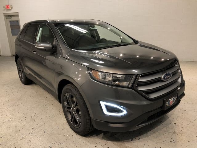 2018 Magnetic Metallic Ford Edge SEL SUV Automatic 3.5L V6 Ti-VCT Engine AWD 4 Door