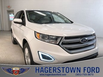 2018 Ford Edge SEL EcoBoost 2.0L I4 GTDi DOHC Turbocharged VCT Engine 4 Door Automatic
