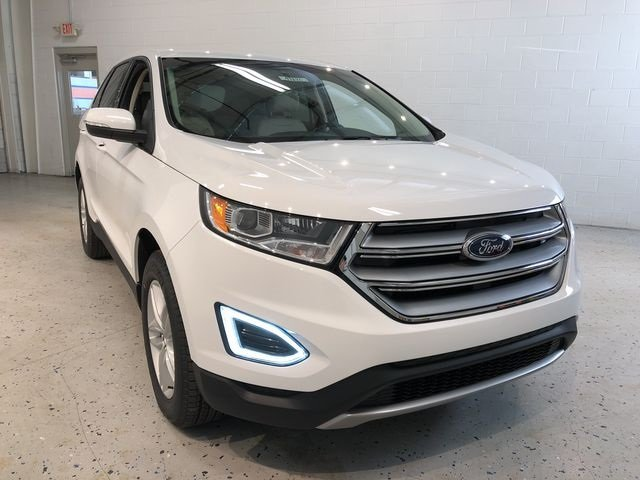 2018 Ford Edge SEL EcoBoost 2.0L I4 GTDi DOHC Turbocharged VCT Engine AWD SUV 4 Door Automatic
