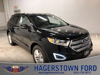 2018 Shadow Black Ford Edge SEL AWD Automatic SUV