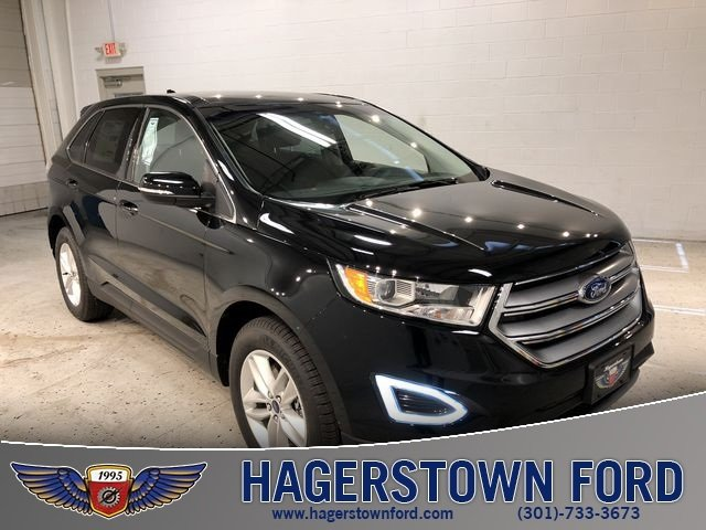 2018 Shadow Black Ford Edge SEL 4 Door SUV Automatic