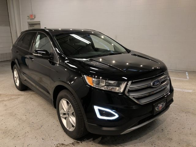 2018 Shadow Black Ford Edge SEL Automatic 4 Door SUV EcoBoost 2.0L I4 GTDi DOHC Turbocharged VCT Engine AWD
