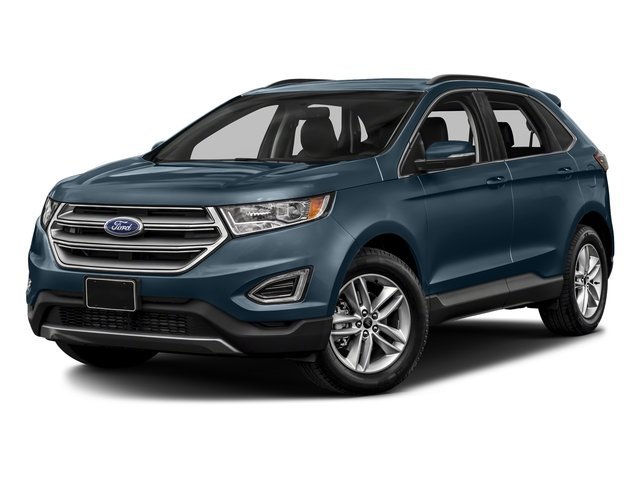 2018 Blue Metallic Ford Edge Titanium 4 Door SUV AWD