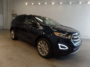 2017 Blue Jeans Metallic Ford Edge Titanium Automatic SUV AWD