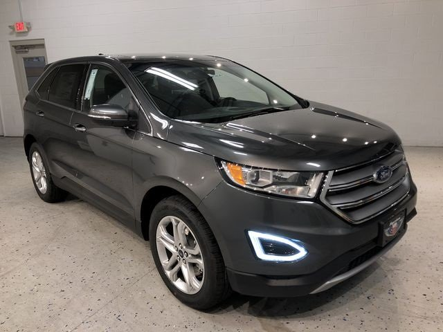 2018 Magnetic Metallic Ford Edge Titanium SUV AWD 3.5L V6 Ti-VCT Engine 4 Door Automatic