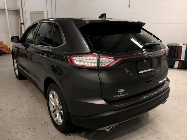 2018 Magnetic Metallic Ford Edge Titanium AWD 4 Door 3.5L V6 Ti-VCT Engine SUV Automatic