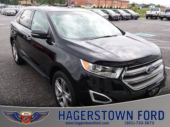 2016 Shadow Black Ford Edge Titanium AWD Automatic 3.5L V6 Ti-VCT Engine 4 Door