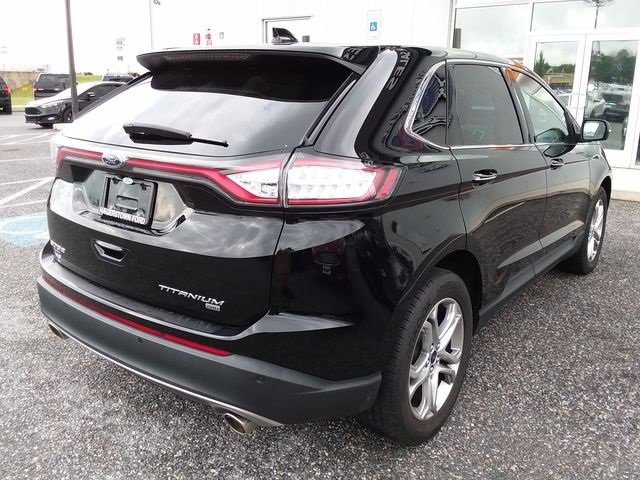 2016 Shadow Black Ford Edge Titanium 4 Door SUV AWD