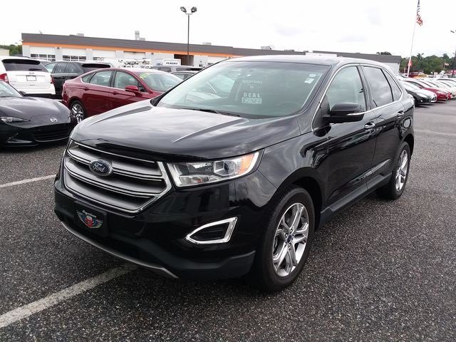 2016 Shadow Black Ford Edge Titanium 3.5L V6 Ti-VCT Engine SUV 4 Door
