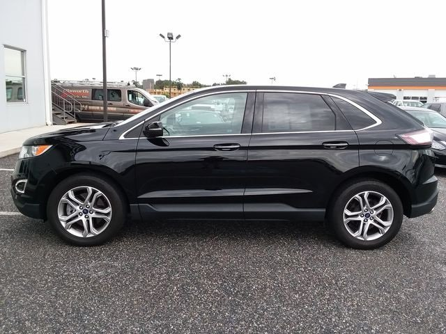 2016 Shadow Black Ford Edge Titanium SUV 4 Door Automatic