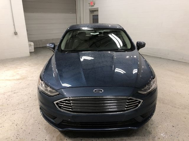 2018 Blue Metallic Ford Fusion S FWD 4 Door I4 Engine Sedan
