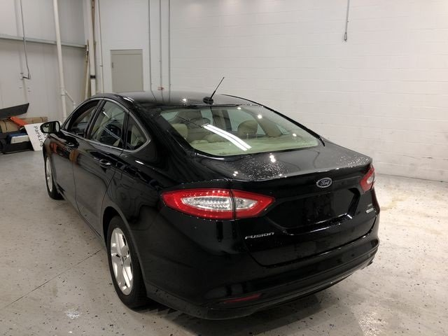 2016 Shadow Black Ford Fusion SE EcoBoost 1.5L I4 GTDi DOHC Turbocharged VCT Engine Sedan FWD 4 Door Automatic