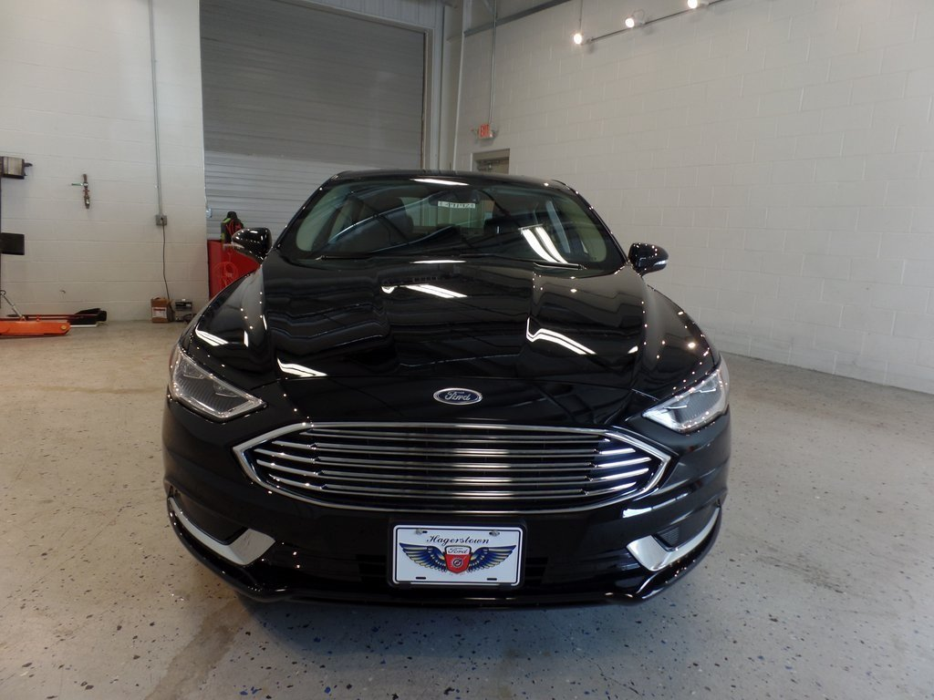 2018 Shadow Black Ford Fusion SE Automatic 4 Door Sedan