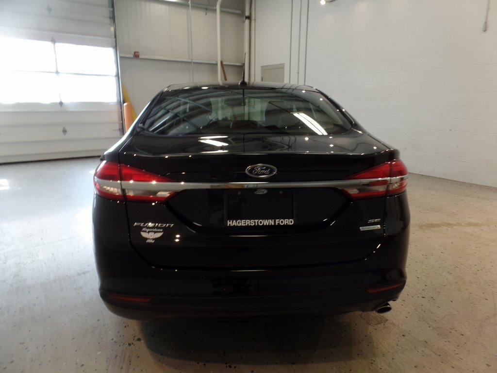 2018 Shadow Black Ford Fusion SE EcoBoost 1.5L I4 GTDi DOHC Turbocharged VCT Engine Sedan 4 Door Automatic FWD