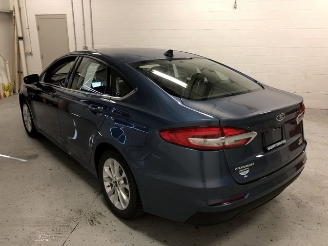 2019 Ford Fusion SE EcoBoost 1.5L I4 GTDi DOHC Turbocharged VCT Engine Sedan FWD 4 Door