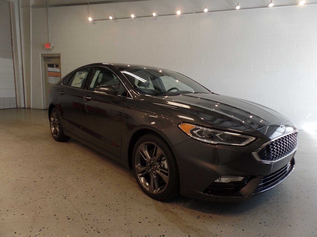 2017 Ford Fusion Sport 4 Door Automatic Sedan V6 Engine AWD