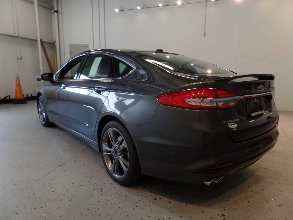 2017 Ford Fusion Sport AWD 4 Door Sedan V6 Engine Automatic