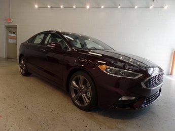 2017 Ford Fusion Sport Automatic AWD Sedan