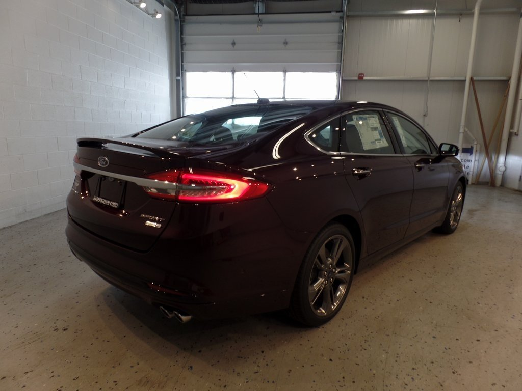 2017 Ford Fusion Sport V6 Engine AWD 4 Door Automatic