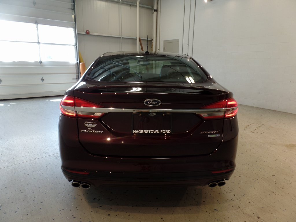 2017 Ford Fusion Sport V6 Engine AWD Automatic