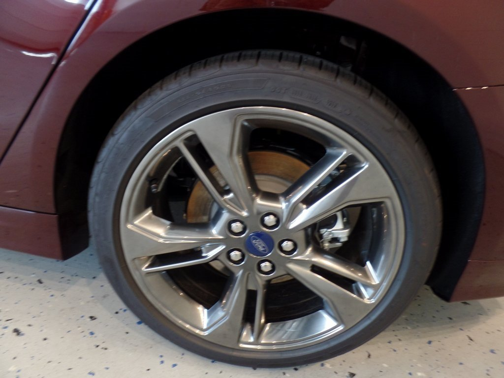 2017 Burgundy Velvet Metallic Tinted Clearcoat Ford Fusion Sport 4 Door Sedan AWD Automatic