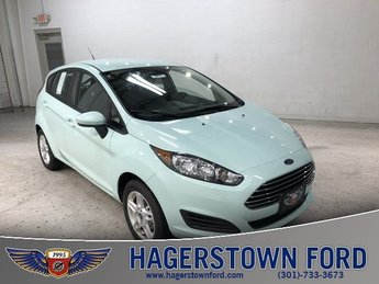 2018 Bohai Bay Mint Metallic Ford Fiesta SE FWD 4 Door 1.6L I4 Ti-VCT Engine