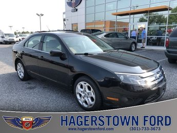 2010 Tuxedo Black Metallic Ford Fusion SE 4 Door Automatic 2.5L I4 Engine Sedan FWD