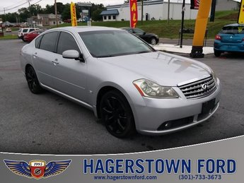 2007 Silver Infiniti M35 Sport RWD Sedan 3.5L V6 DOHC 24V Engine 4 Door
