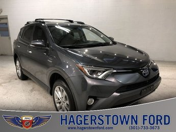 2017 Toyota RAV4 Hybrid Limited SUV 4 Door AWD 2.5L 4-Cylinder Engine