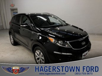 2015 Black Cherry Kia Sportage LX AWD Automatic 2.4L I4 DGI DOHC 16V Engine