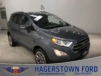 2018 Gray Ford EcoSport Titanium 2.0L I4 Ti-VCT GDI Engine 4 Door 4X4 Automatic