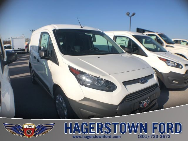 2018 Frozen White Ford Transit Connect XL Van FWD 4 Door
